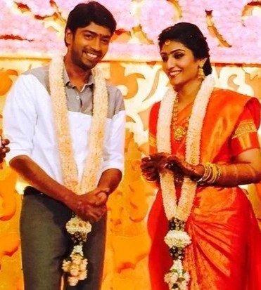 Allari naresh marriage photo