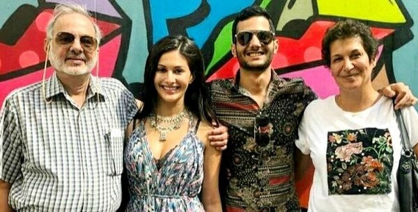 Amyra with her family