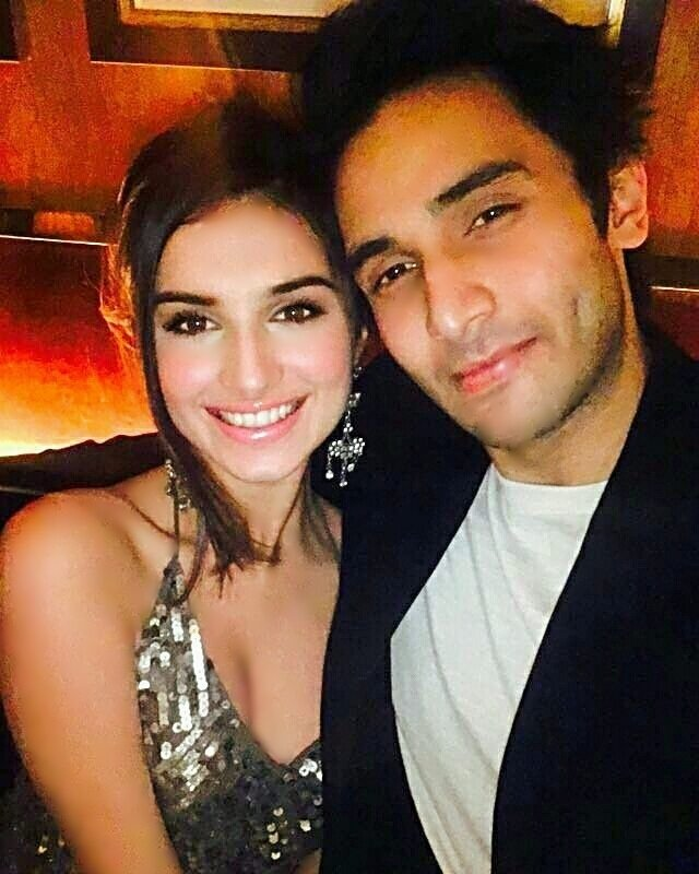 Tara Sutaria with Rohan Mehra