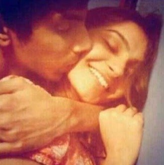 Intimate photographs of Andrea Jeremiah and Anirudh Ravichander