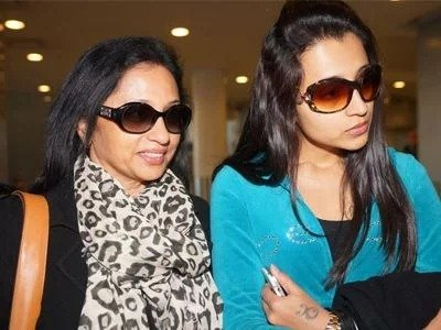 Trisha childhood with her mother