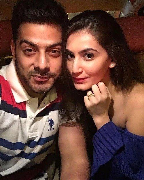 Karampal Rajpal with his girlfriend Shivaleeka