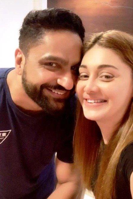 Shefali Jariwala with Her HusbandParag Tyagi