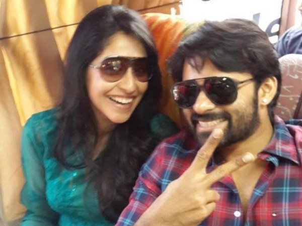 Sai Dharam Tej and Regina Cassandra together photo