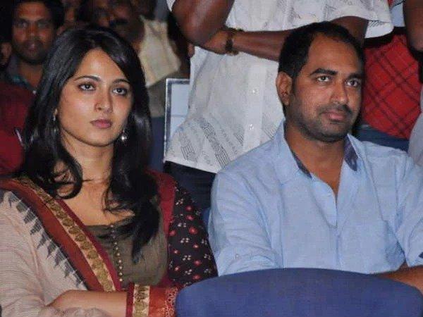 Anushka Shetty and director Krish photo