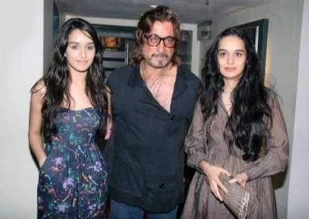 Shraddha Kapoor with her parents
