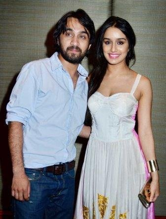 Shraddha with her brother