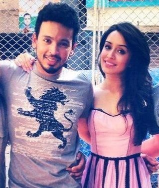 Shraddha Kapoor with Celebrity Photographer Rohan Shrestha