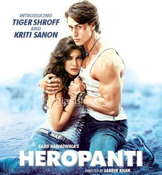 Tiger Shroff debuted in Heropanti