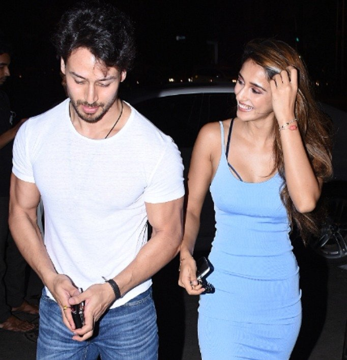 Tiger Shroff and Disha Patani together