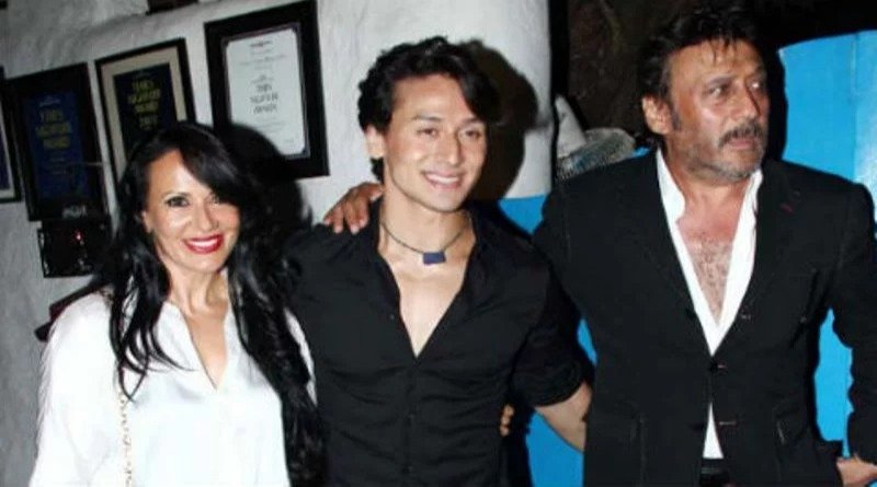 Tiger Shroff with his parents