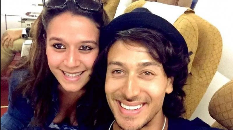Tiger Shroff with his sister
