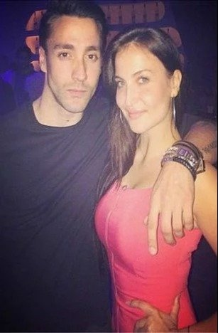Elli Avram with her brother